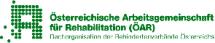 Logo ÖAR, Österreichische Arbeitsgemeinschaft für Rehabilitation, Dachorganisation der Behindertenverbände Österreichs