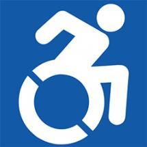 Symbol für RollstuhlfahrerInnen