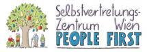 Logo des Selbstvertretungszentrums Wien - People First